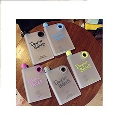ME MIX Notebook Water Bottle, Capacity: 350ml