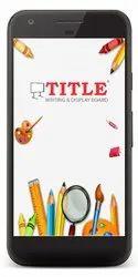 TITLE Board App
