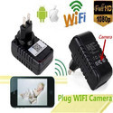 Smart HD 1080p US Plug Wall Charger WIFI Camera Video Recorder