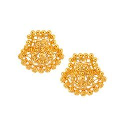 Tanishq Gold Earrings