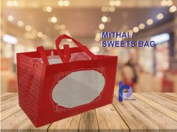 Printed Mithai / Sweets Shopping Bag, Capacity: 5kg