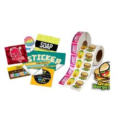 Multicolor Vinyl Stickers, Packaging Type: Roll