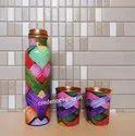 Copper Bottle Meena Print