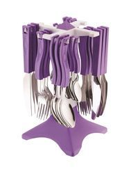 24 Pcs Prism Kitchen Cutlery