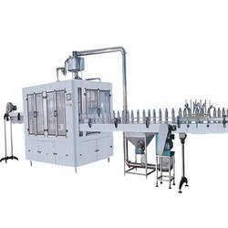 Stainless Steel Single Phase Water Bottle Filling Machine, Capacity: 6000-8000 Bottles/Hr, 1 Hp