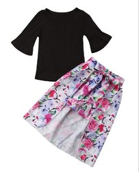 Chetna Organic Cotton Kids Skirt Top Set
