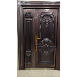 Hinged Double Leaf Steel Safety Door