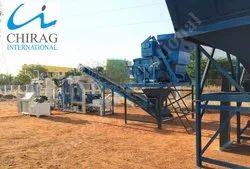 Automatic Blue Chirag High Performance Brick Manufacturing Plant