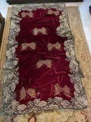 Velvet Embroidery Shawls