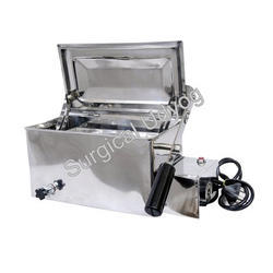 Instrument Sterilizer with Thermostate and Hand lifting Tray