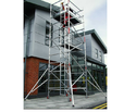 Hot Dipped Galvanized Aluminium 10 M Scaffolding System For Building Construction