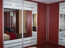 Acrylic Stainless Steel Kitchen Wardrobe, For Residential, Commercial
