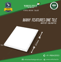 White Feet Heat Resistant Weather Proof Tile