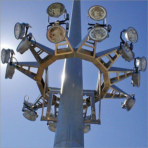 Stadium Lights Manufacturers: Stadium High Mast Lighting Pole