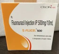 5 Flucel 500mg-Fluorouracil Injection 500mg/10ml