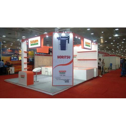 Exhibition Stall Manufacturer In Chennai : Multicolor promotional exhibition stall for for brand promotion