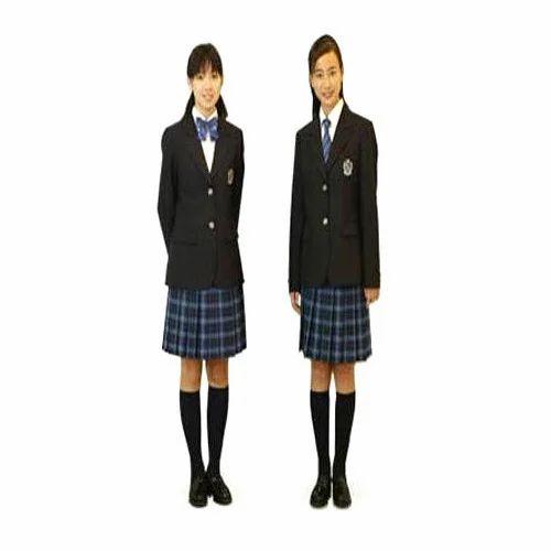 40402b1caa Tericot Winters Girls High School Uniform Set, Size: 26 To 50 Inch ...