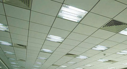 Cement Fiber Sheet False Ceiling