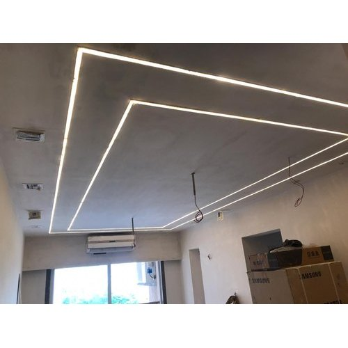 Gypsum Office False Ceiling Designing Service Map Interior