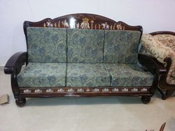 WOODEN ROSEWOOD SOFA SET