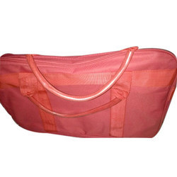 Polyester Red Duffle Bag, For Travel