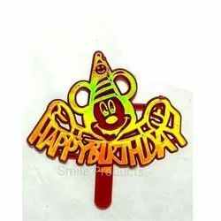 Micky Mouse Plastic Cake Topper
