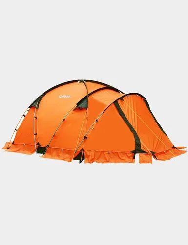 Orange High Mountain 4 Plus - Four-Season Four-Person Dome Tent With & Orange High Mountain 4 Plus - Four-Season Four-Person Dome Tent ...