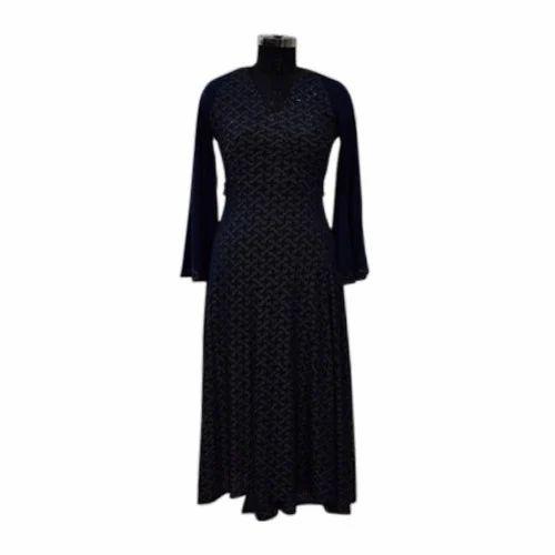 2cc02d5529 Ladies Party Wear Woolen Dress