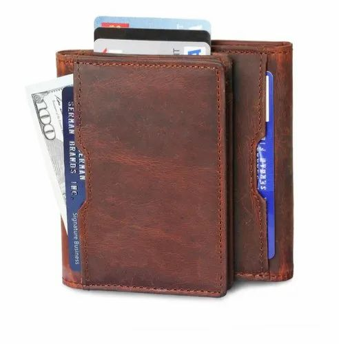 Leather Zip Around Credit Card Holder Wallet by Prime Hide Holds 24 cards