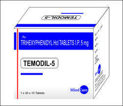 Trihexphenidyl 2 Mg  and  5 Mg Tab