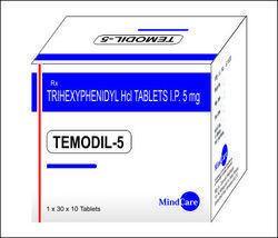 Trihexphenidyl 2 Mg / 5 Mg Tab