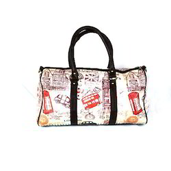 92c999c6ca Band Box Multicolor London Duffel Bag
