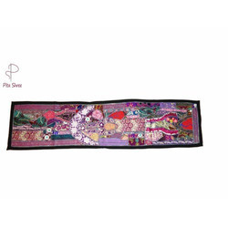 Rajasthani Patchwork Table Runners, Size: 12x60 inch