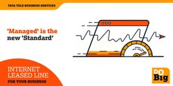 Fiber Tata Internet Leased Line, Access Type: Fibre And Wireless