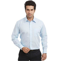 Cotton Light Blue Mens Shirt