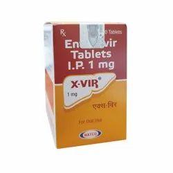 Xvir 1mg ( Entecavir 1 Mg ) Tablets
