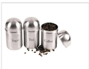 Steel Tea Coffee Sugar Container