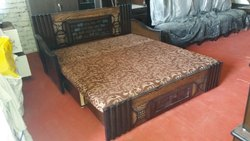 Wooden Modern Sofa Cum Bed, for Home