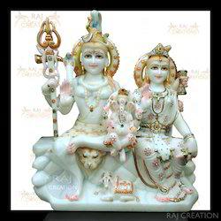 Marble Gori Shankar Statue