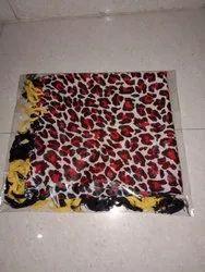 印花广场围巾