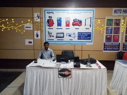 Participation in Tata Motors Ltd. Meet moradabad 2015