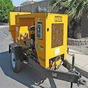 Stationary Concrete Pump on Rent