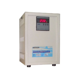 Three Phase Mild Steel 24VDC Servo Stabilizer