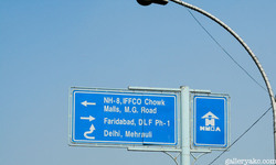 Highways Direction Signage