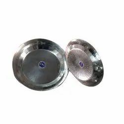 Stainless Steel Round Parath