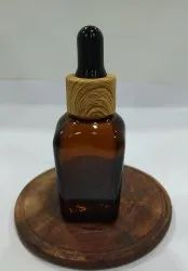 20 ML Square Amber Dropper Bottle
