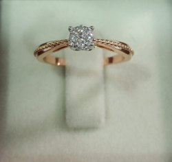 Pressure Diamond Ring
