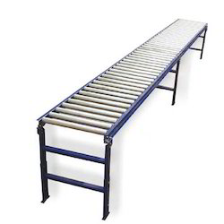 Aluminium & Stainless Steel Industrial Conveyors, Capacity: 50-100 kg per feet