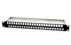 3c3 Category 6/6a High Density Snap-in Jack Panel, 1U, 24