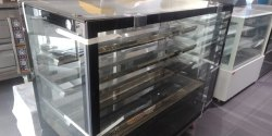 Glass and Stainless Steel Cake Display Counter 5 Feet